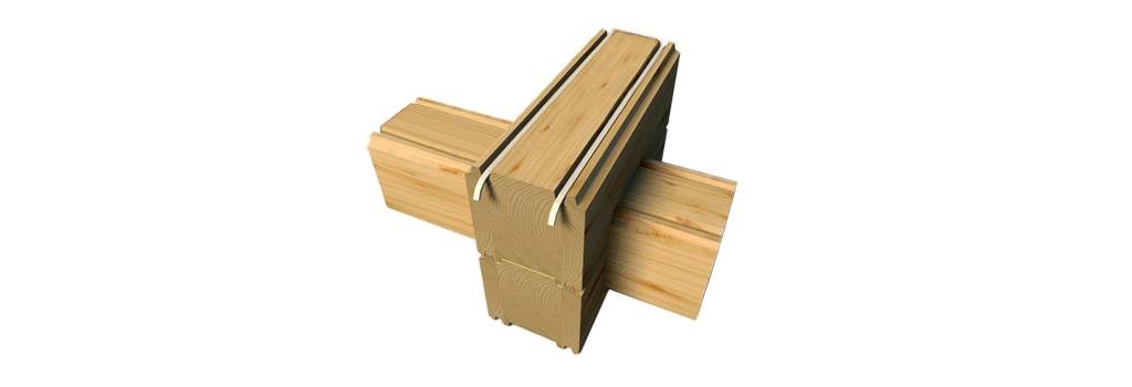 The essence of the product: laminated veneer lumber